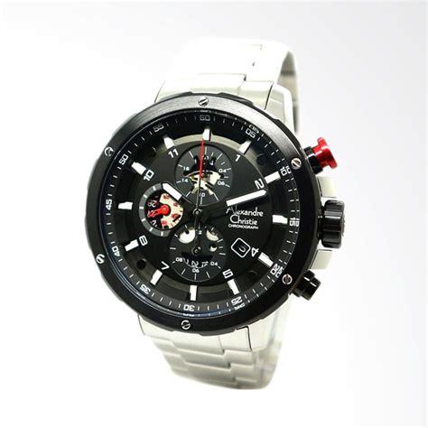 Alexandre Christie 6453 Black jual alexandre christie jam tangan pria silver black
