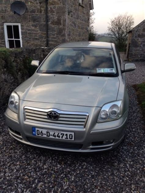 Toyota Avensis 2006 Manual 2006 Toyota Avensis For Sale For Sale In Tipperary Town