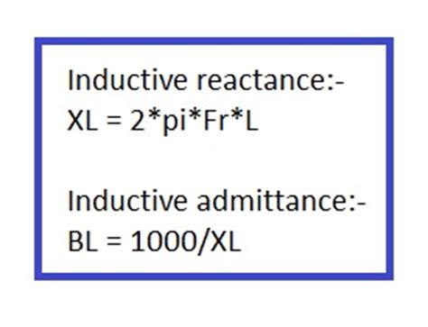 inductive reactance formula calculator inductive reactance calculator capacitive reactance calculator