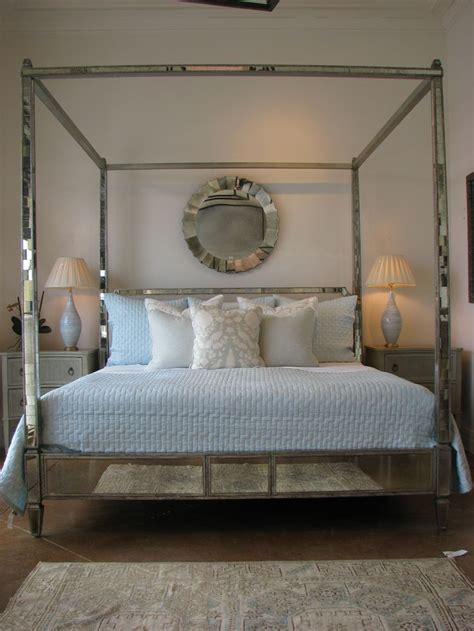 four poster bed with curtains mirrored four poster bed obsessed sleeping dreaming