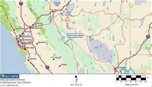 mammoth mountain california map free rv cing mammoth lakes california