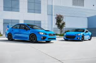 Subaru Sti Hp 2016 Subaru Brz Wrx Sti Series Hyperblue Priced