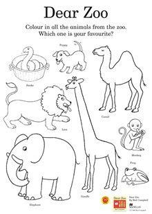 printable zoo animal book dear zoo colouring activity sheet you can also find other