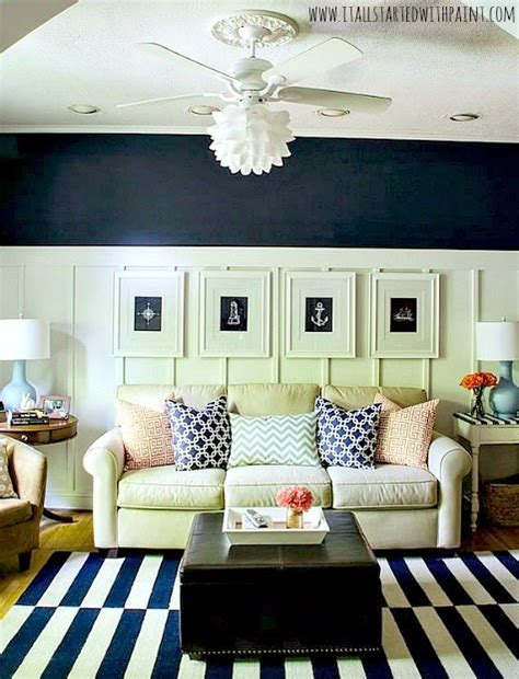 Navy Blue Room by Navy Blue White Living Room Ideas Board Batten