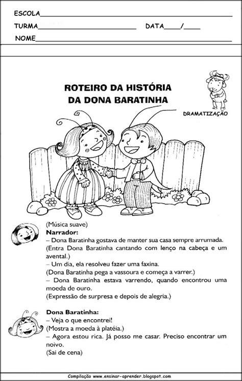 ATIVIDADES: DONA BARATINHA