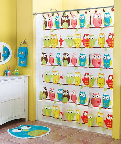 owl pictures for bathroom perched owl bath collection kids bathroom from cornerstone