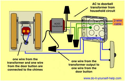 electric doorbell wiring wiring diagram with description