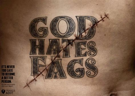 god hates tattoos shock advertising 30 ads that would give australia s ad