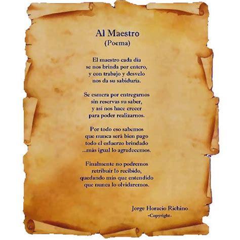 poesias y mensajes para el dia del maestro poesias poemas clasicos para maestros pin al maestro poemas