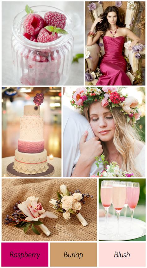 your wedding in colors neutrals and berry arabia weddings