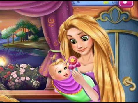 juegos de rapunzel princesa rapunzel cuidado del beb 233 juegos de rapunzel