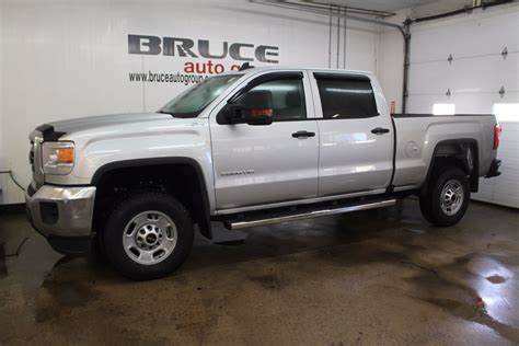 New 2017 GMC SIERRA 2500 HD 6.0L 8 CYL AUTOMATIC 4X4 CREW CAB in Digby   G17222