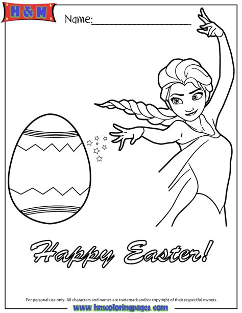 frozen coloring pages let it go easter elsa let it go coloring page h m coloring pages