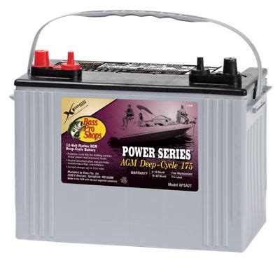 bass pro shops boat battery charger xps bass pro shops xps power series 12 volt marine deep cycle