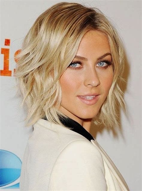 short layered bob hairstyles for long faces hollywood