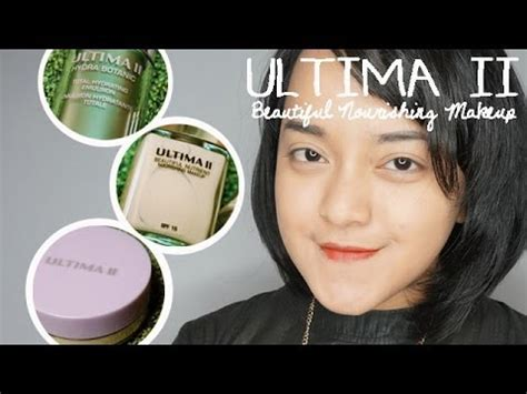Mascara Ultima Ii ultima ii beautiful nutrient makeup