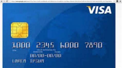 Sle Credit Card Number Of Visa valid credit card numbers and security codes that work