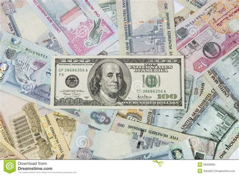Currency Converter Dollar To Aed | us dollar and uae dirhams stock image image of american