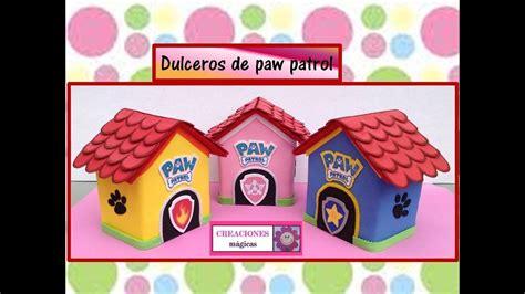 dulceros de paw patrol como elaborar dulceros de paw patrol creaciones m 225 gicas