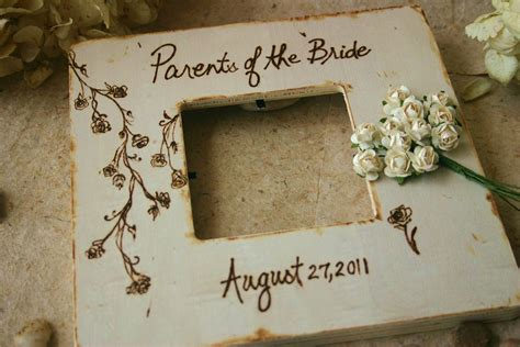 Handmade Wedding Gifts For The And Groom - wedding gifts for parents of and groom set by