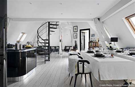Appartement Noir Et Blanc by D 233 Coration Appartement En Noir Et Blanc