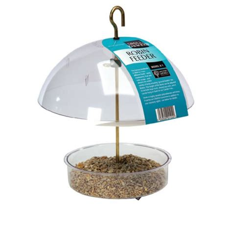 robin feeder british wild bird food and habitat suppliers