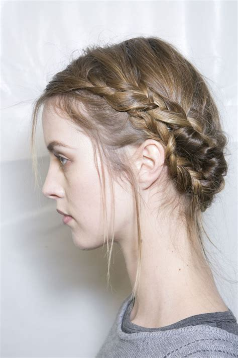 Russian Hairstyles Braids | viktor and rolf fall 2013 hair braid russian style doll