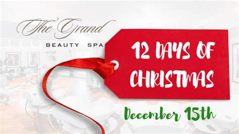 12 days of christmas gifts baskets and a free blow dry