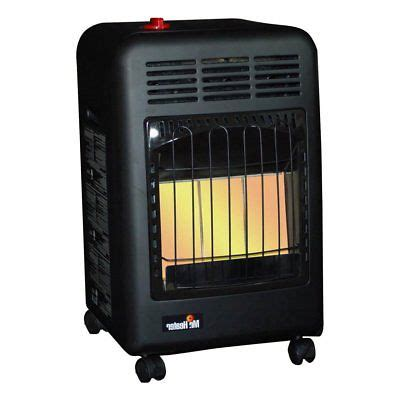 propane cabinet gas portable heater procom space heater blue flame propane gas vent free