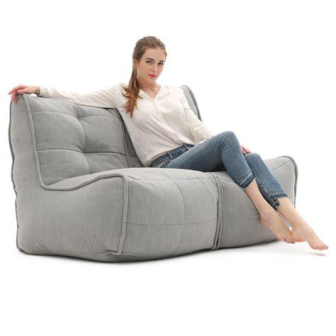 bean bag sofa sofa keystone grey bean bags australia