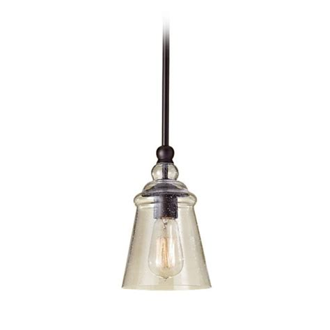 Glass Island Lights Mini Pendant Light With Clear Glass P1261orb Destination Lighting