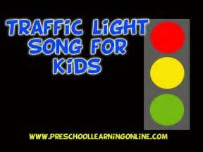 Preschool song for kids traffic song red yellow green youtube