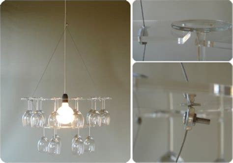 Diy Wine Glass Chandelier Wine Glass Chandelier 11 Creative Ideas Guide Patterns