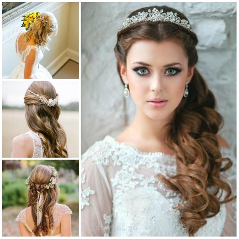 Wedding Hairstyles Half Updos by Half Up Half Hairstyle 2017 Haircuts Hairstyles