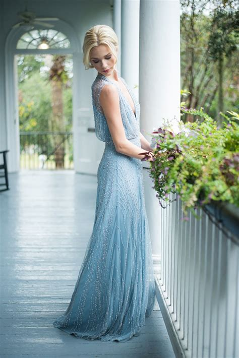 Blue Wedding Dress by Blue Wedding Dresses Wedding Ideas By Colour Chwv