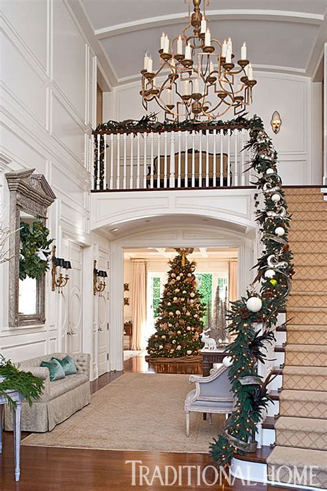 traditional home christmas decorating christmas in a california home with a neutral palette