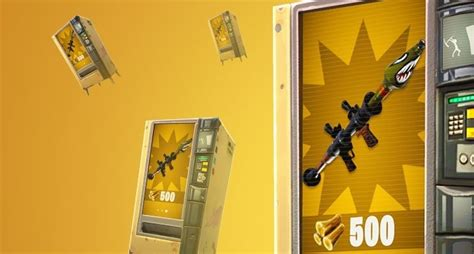 fortnite vending machine fortnite where to find the vending machines