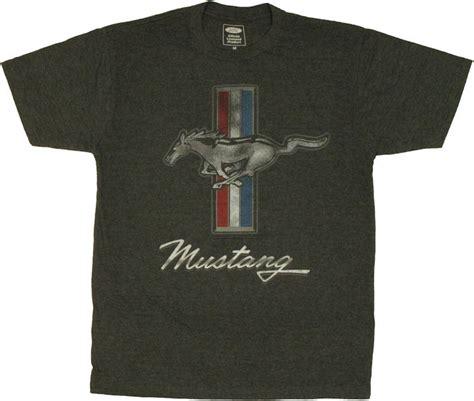 ford mustang emblem t shirt sheer