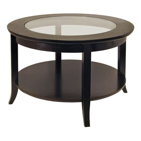 coffee table with glass top in coffee tables
