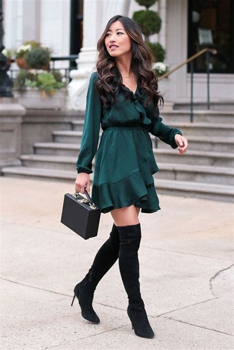 casual christmas party outfits ideas  wear