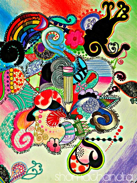Colored Drawings Shoma Chandra Colored Drawings