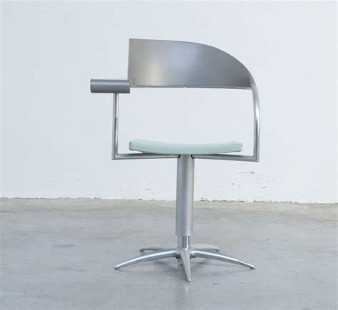 Philippe Starck L by Vintage Techno Chair By Philippe Starck For Presence