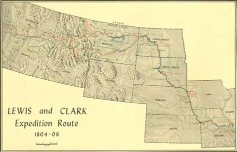 lewis and clark map detailed lewis and clark map pictures to pin on pinsdaddy