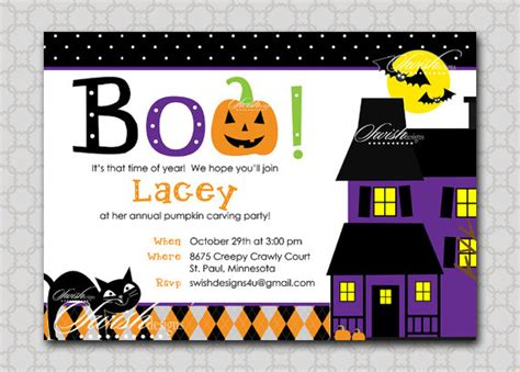 free printable halloween invitations for birthday free printable halloween birthday invitations festival