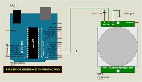 tutorial sensor pir arduino arduino pir sensor