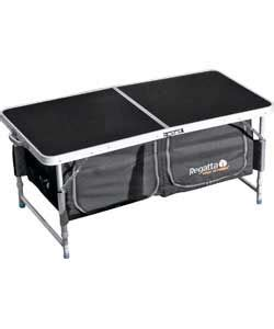 163 29 99 regatta folding cing table with storage
