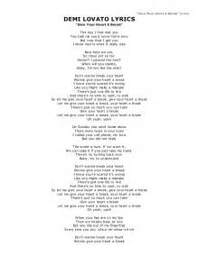 demi lovato lyrics give your a