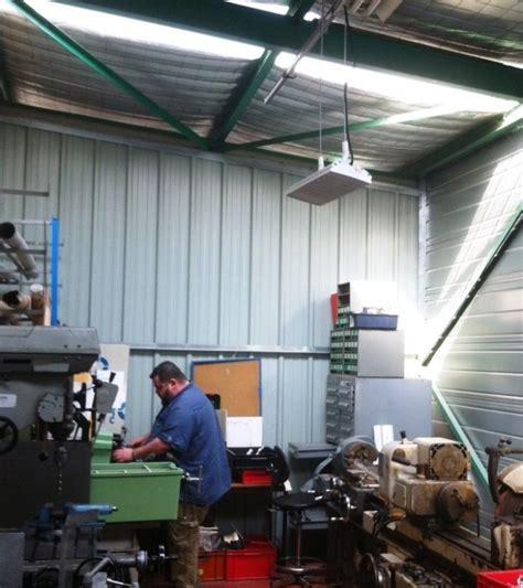 chauffage hangar comment chauffer un hangar un atelier un centre de