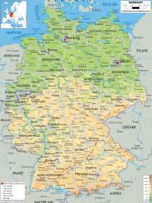 West Germany Map by Central And West Germany Map Travel Map Vacations