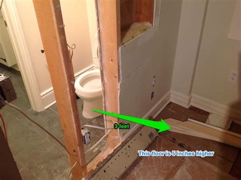 moving a toilet is this plumbing possible